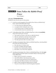 Doc Follow The Rabbit Fence Yomna M Allam Academia Edu