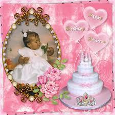 happy birthday princess castle cake