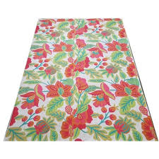 floor chainstitch rug size 6 4 ft rs