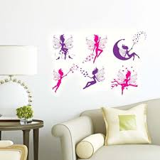 New Removable Wall Stickers Flower Fairy Home Decoration Wall Decals For Childrens Room House Diy Nursery Stickers Nursery Wall Decal From Chenjin1451 4 54 Dhgate Com