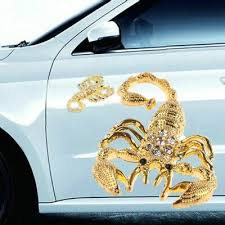 Scorpion Car Badge Emblem Chrome Self Adhesive New Archives Midweek Com