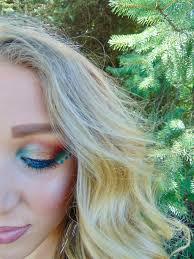 bold easy festival makeup