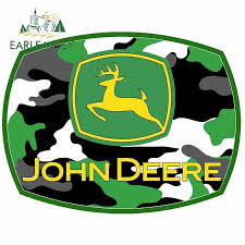 Earlfamily 13cm X 10 1cm For John Deere Motorcycle Car Stickers Graffiti Decal Diy Funny Occlusion Scratch For Jdm Suv Rv Car Stickers Aliexpress