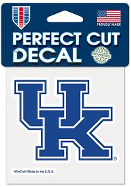 Kentucky Wildcats 4x4 Auto Decal Blue 5718750