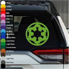 Imperial Insignia Star Wars Car Decal Crazy4decals