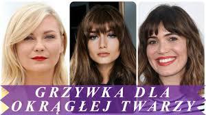 Top 20 Piekny Fryzury Z Grzywka Dla Okraglej Twarzy 2018 Damskie