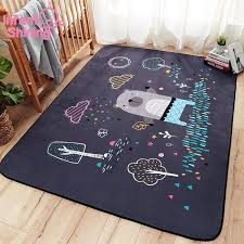 Infant Shining Cartoon Baby Play Mat Thick Suede Living Room Carpet Kids Children Bedroom Rugs Eco Friendly Blanket Cj191220 Round Rugs For Kids Childrens Foam Puzzle Mats From Quan08 39 4 Dhgate Com