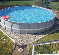 If An In Ground Swimming Pool Is Not In Your Foreseeable Future Perhaps An Above Ground Pool Is The Above Ground Swimming Pools Backyard Pool In Ground Pools