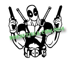 Deadpool Decal Sticker
