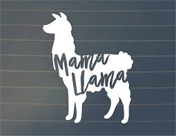 Amazon Com Susie85electra Mama Llama Decal Mama Llama Car Decal Mama Llama Car Sticker Laptop Decal Laptop Sticker Car Vinyl Window Decal Wall Decals Vinyl Wall Stickers For Girls Bedrooms Living Room Home