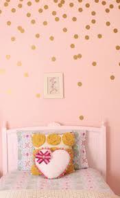 Gold Circle Walls Decals Polka Dot Walls Gold Polka Dots Wall Girl Room