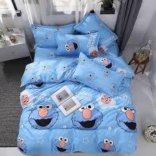 bedding set cartoon cute cat mouse star