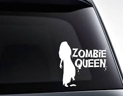 Zombie Queen Vinyl Decal Sticker