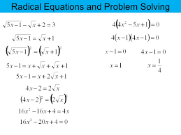 problem solving radical expressions ma