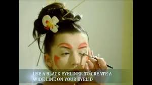 modern geisha makeup tutorial you