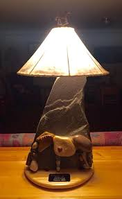 custom made rustic stone lamps stone