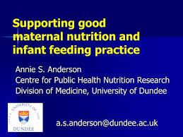 maternal nutrition and infant feeding
