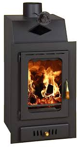 wood burning stove inset insert