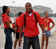 Tyrone Smith-Olympian and CAC Long Jump Champion from Bermuda