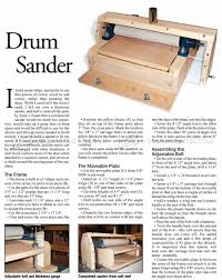 diy thickness sander woodarchivist