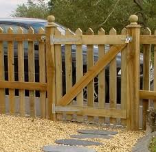 Fence Gates Build Picket Fence Gate