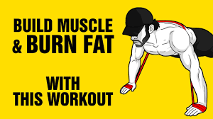 burn fat build muscle with this