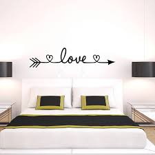 Love Arrow Wall Decals Vinyl Removable Bedroom Wall Stickers For Living Room Bedroom Home Wall Decoration Removable Wall Decals For Living Room Removable Wall Decals Nursery From Onlybrand 11 07 Dhgate Com