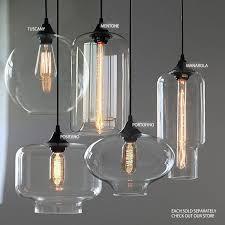 positano glass shade pendant light