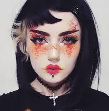 female ninja makeup saubhaya makeup