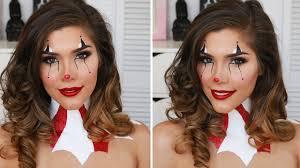 y clown hair makeup