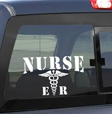 Nurse Er Nurse Decal North 49 Decals