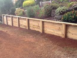 retaining walls garden effects