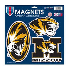 Missouri Tigers Vinyl Magnet 11 X 11 By Wincraft Mo Sports Authentics Apparel Gifts
