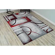 3d hand carved modern 5x8 5x7 rug
