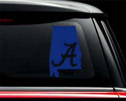 Car Truck Graphics Decals Auto Parts And Vehicles Alabama Crimson Tide State Vinyl Car Truck Decal Sticker University Pick Size Megeriancarpet Am