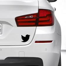 Hot Sale Twitter Bird Silhouette The Vinyl Decal Luggage For Reflector Car Window Car Sticker Wall Stickers Aliexpress