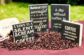 coffee and coffee quote wood sign box coffee lover gift