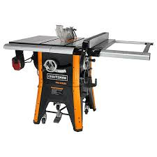 Craftsman Proseries Tjz10 3 10 Contractor Table Saw