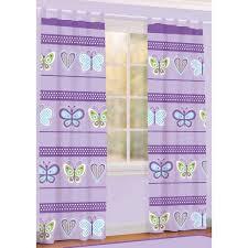 Mainstays Butterfly Girls Bedroom Curtain Panel Shoptv