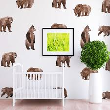 Oscar Bear Wall Decal Set Project Nursery