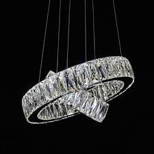 led crystal chandelier lights modern