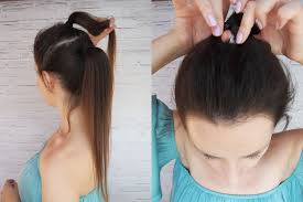 Kucyk W Stylu Ariany Grande Hair By Jul Fryzury Krok Po Kroku