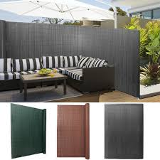 Privacy Fence Pvc Bamboo Screening Fencing Screen Panel Balcony Garden Cover Ebay