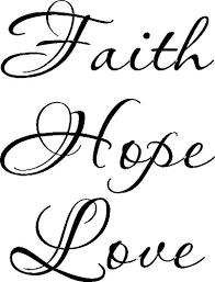 Faith Hope Love Scripture Inspired Wall Art Scripture Wall Art Vinyl Decal Wall Art And More