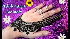 stylish simple mehndi design download