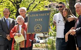 NY's Adam Yauch Park vandalized with swastikas, pro-Trump message | The  Times of Israel