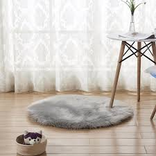 Fluffy Round Rug Carpets For Living Room Decor Faux Fur Carpet Kids Room Long Plush Rugs For Bedroom Shaggy Area Rug Carpet Samples Online Nylon Carpet Prices From Highqualit10 14 5 Dhgate Com