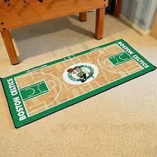 Boston Celtics 29 5 X 54 Large Basketball Court Runner Area Rug Mat 846104092059 Ebay