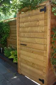 Gate Hardware That Isn T Like Your Neighbours Modern Fence Backyard Fences Fence Design
