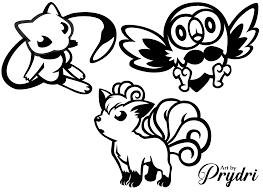 More Pokemon Vinyl Decals By Prydri Fur Affinity Dot Net